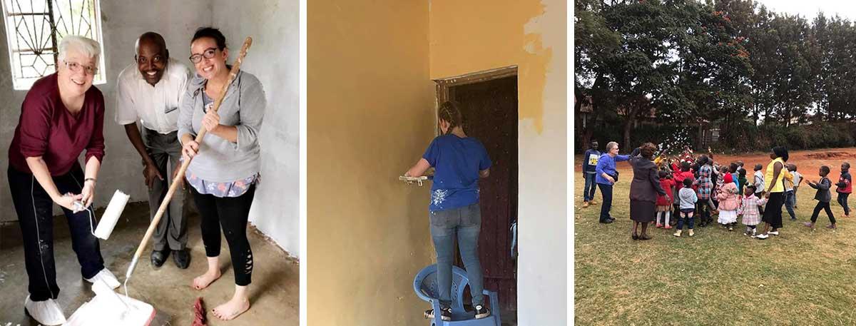 Painting and Kid's Day at Kangundo